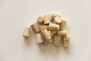 Cork Bottle Stoppers/Crafts Conical 100% Natural 21x15,5x12,5mm/0,82x0,61x0,49in