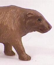 Vintage Black Bear Celluloid Toy Christmas Putz Train Yard Display Ornament #2