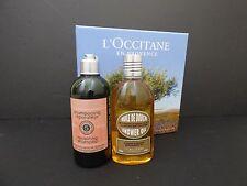 L'Occitane Almond Amande Shower Oil 8.4 & Aromachologie Repairing Shampoo 10.1
