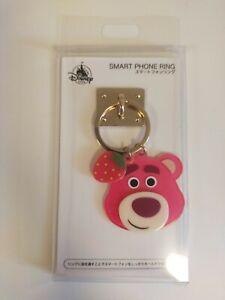 Disney Store Japan Toy Story lotso Bear Mobile Phone Ring Holder