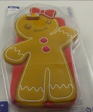 fits iPhone 6 phone case Christmas Gingerbread girl bow