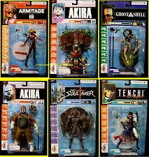 McFarlane Japan 3D Animation Series 2 Anime 6 Figure Set  2001 Special Price