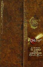El Libro de la Gratitud. El Secreto. Rhonda Byrne Libros Autoayuda Tapa Dura