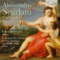 SCARLATTI:CANTATAS & RECORDER CONCERTOS - INVERNIZZI,R./BAGLIANO,S./  CD NEW