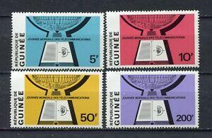 s12294) GUINEA GUINEE 1970 MNH** Telecommunications 4v