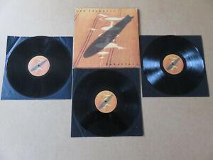 LED ZEPPELIN Remasters ATLANTIC 1990 EU / UK 1ST PRESSING 3 x VINYL LP SET ZEP1