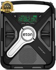Eton Emergency Weather Alert Radio Bluetooth Smartphone Charger Digital Tuner