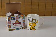 "Garfield 14oz Coffee Mug ""I'm not Insane…"" Classic Cat Cartoon"