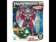 Neuf Scellé Transformers Dark of the Moon Mechtech Leader Class Sentinel Prime
