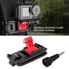 Backpack Clip Clamp Mount Bracket for GoPro Hero 8 7 DJI OSMO Action/Pocket Cam