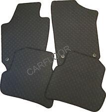 Für Mercedes C205 Cabrio Gummi Fußmatten Gummifußmatten schwarz m Befestigung