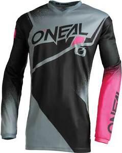 O'Neal Women's Element Jersey - MX Motocross Dirt Bike Off-Road ATV MTB Gear