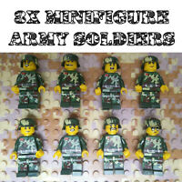 8pcs Military Army Soldiers Figures Building Blocks Set Fit Lego UK STOCK