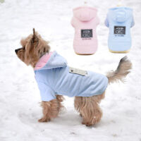 Dog Winter Coat Chihuahua Clothes Warm Fleece Doggie Cat Jackets Hoodie Apparel