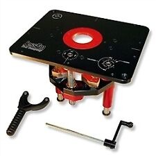 JessEm 02120 Mast-R-Lift II Router Lift -- Fits Over 18 Fixed Base Router Motors