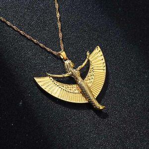 1pc Goddess Isis Pendant Necklaces Egyptian Deity Charm Necklace Women Fashion J
