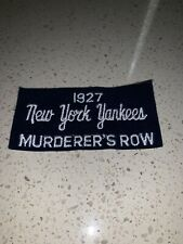 New York Yankees 1927 Murderer's Row Patch Babe Ruth Lou Gehrig +++