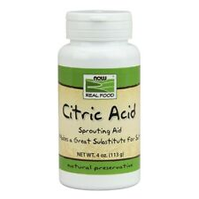 NOW Foods Citric Acid 4 oz FREE SHIPPING. MADE IN USA