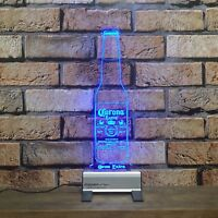 Corona Extra Bottle LED Sign,Bar,Mancave,Led,Remote Control,Light