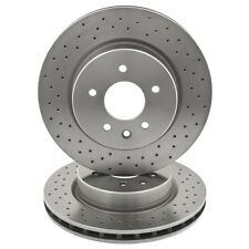 Jaguar XJ XK8 Brake Discs Rear 330mm Pair X100 X308 1997 - 2006 JLM21748ES MOSS