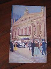 Vintage Variety Program London Palladium England Jimmy Durante Schnozzola