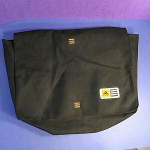 Adidas Black Three Line Orange Laptop Bag RN #90288