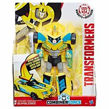 RARE Transformers RID Combiner Force 3-Step Changer Power Surge Bumblebee - Blue