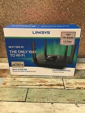LINKSYS AC2200 MU-MIMO TRI-BAND ROUTER- Used- READ