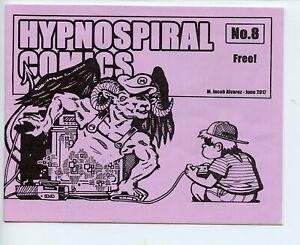 Hypno Spiral Comics #8 Jacob Alvarez mini comic 2017 VF