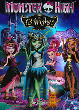 Monster High: 13 Wishes (DVD, 2013) DISC IS MINT