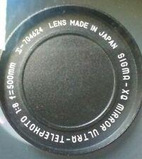 Sigma Mirror Ultra Telephoto XQ f=500mm 1:8  Mirror ultra Lens Japan m 42  00
