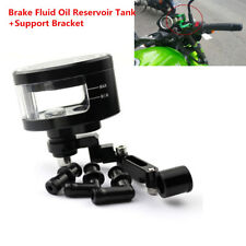 Brake Fluid Oil Reservoir Cup Tank For Yamaha YZF R1 R6 R6S FZ ZX6 ZX9 CBR600RR