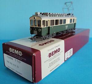 Bemo H0m # 1268 110 RhB Berninatriebwagen