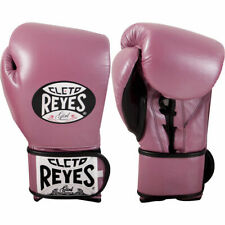 Cleto Reyes Training Boxing Sparring Gloves Pink Lady Pure Leather Free Shipping