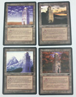 4x Urza's Tower NM Italian Renaissance Magic The Gathering MTG Hard_8s_Magic