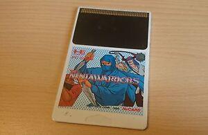 The NinjaWarriors NEC PC Engine Hucard import JAP
