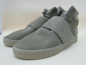 Adidas Tubular Invader Strap Men's Green High-Top Sneakers Size 11 BB8391