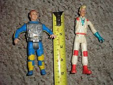 RARE Lot of 2 Ghostbusters Action Figures Collection One missing arm