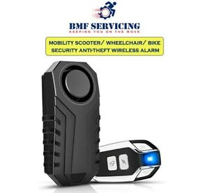 Disability Wireless Remote Control Mobility Scooter Waterproof Security Alarm