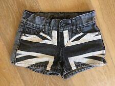 Jupe en jean fille 7 - 8 ans (128 cm) marque Denim - Couleur gris effet délavé