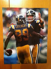 JERRICHO COTCHERY signed autograph 8X10 GLOSSY PHOTO STEELERS JETS Brett Favre