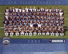 2006 SAN DIEGO CHARGERS NFL FOOTBALL 8X10 TEAM PHOTO