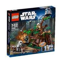 Lego Star Clone Wars 7956 Ewok Attack Endor Logray Tokkat Scout Minifigure NISB