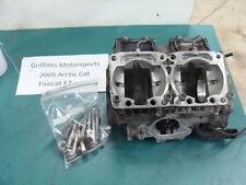 05 04 06 ARCTIC CAT FIRECAT F7 carb 700 SABRE? engine cases crankcase crank case