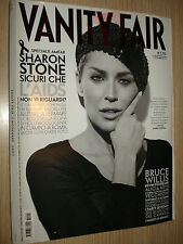 VANITY FAIR SHARON STONE N° 43 1 NOVEMBRE 2007 WILLIS ALICIA KEYS VECCHIONI