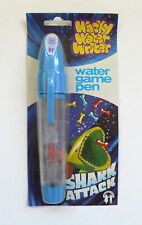 Vintage WACKY WATER WRITER SHARK ATTACK Water Game Pen MOC 1970's