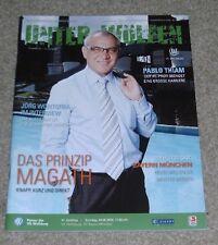 Programm VfL Wolfsburg - FC Bayern München 04.05.2008 - 1.Bundesliga 2007/2008
