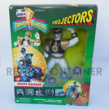 MIGHTY MORPHIN POWER RANGERS Projectors - White Ranger - New MISB MOC