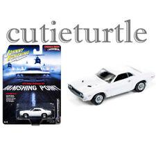 Johnny Lightning 1970 Dodge Challenger RT Vanishing Point 1:64 JLCP6001 White