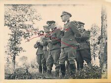 Nr. 32065 Foto 2 Wk Deutsche Offiziere  1942 Orden  9 x 12 cm